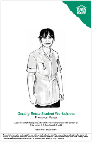 Getting Better Student Worksheets (PDF)