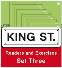 Load image into Gallery viewer, King Street: Readers and Exercises - Set Three