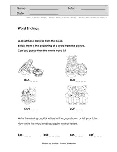 Me and My Shadow Student Worksheets (PDF)