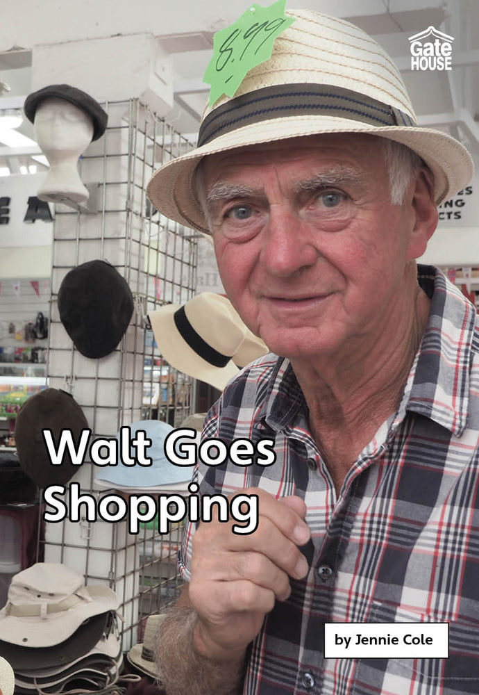 Walt Goes Shopping