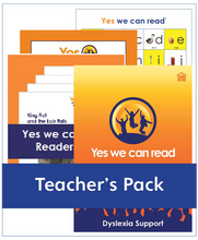 Load image into Gallery viewer, Yes We Can Read: Teacher's Pack