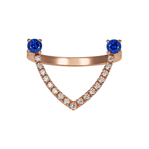 Stackable Sapphire Ring - Simonian