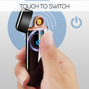Flame-less Rechargeable USB Touch Lighter