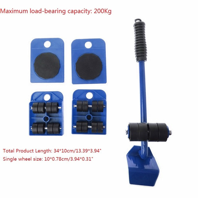 EZ Furniture Lifting Kit
