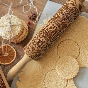 Marvelous Engraved Rolling Pins