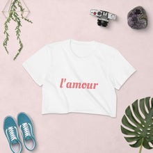 Load image into Gallery viewer, L'amour Crop Top