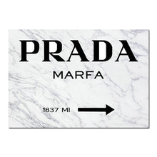 Load image into Gallery viewer, Marble Pattern PRADA Wall Decor