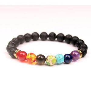 Chakra Gemstone Bracelet Bracelet Supply and Vibe