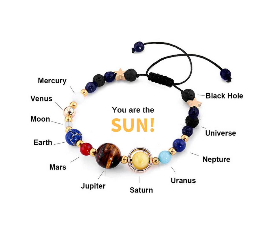 3542832ed4 New! Universe Inspired Planet Bracelet - Easily Adjustable – Supply ...