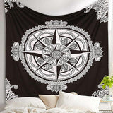 Meditation & Yoga Room - Bohemian Style Wall Tapestry Wall Decor Supply and Vibe 6 150x150cm United States