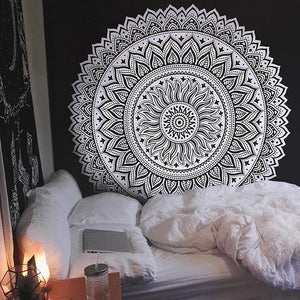 Meditation & Yoga Room - Bohemian Style Wall Tapestry Wall Decor Supply and Vibe 11 150x150cm United States