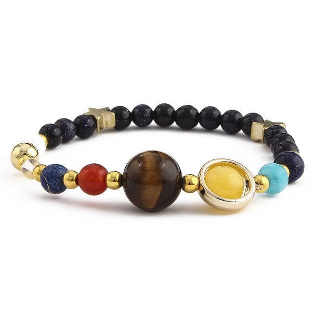 New! Universe Inspired Planet Bracelet - Easily Adjustable Bracelet Supply and Vibe Regular Style