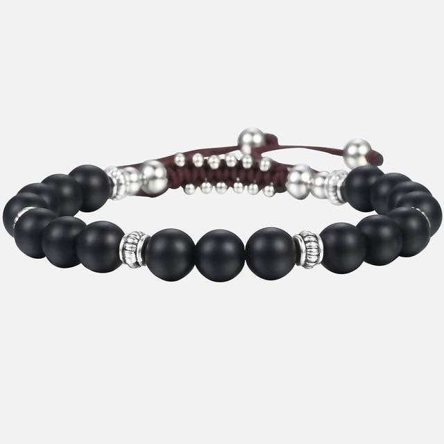 Unique 8mm Men's Women's Natural Tiger Eye Stone Beaded Bracelets Handmade Bracelets Male Dropshipping Wholesale Jewelry DBM12 Supply & Vibe DB54 Glass bead