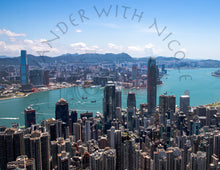 Load image into Gallery viewer, Hong Kong Skyline 3D Frame
