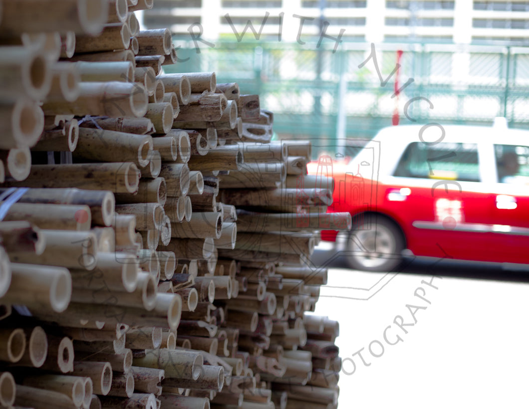 Bamboo Taxi | Photographic Print
