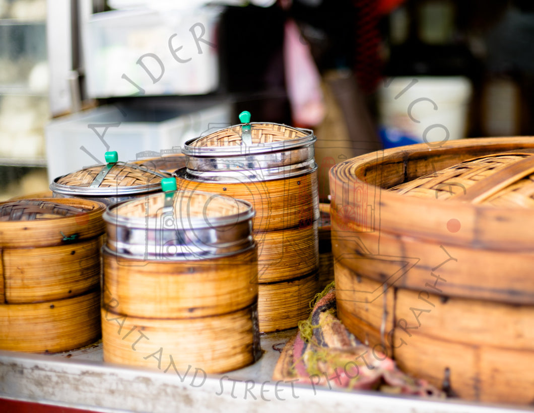 Dim Sum Baskets | Photographic Print