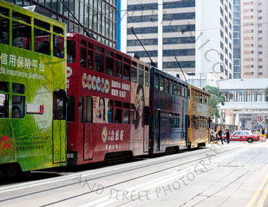 Tram Congestion | Photographic Print