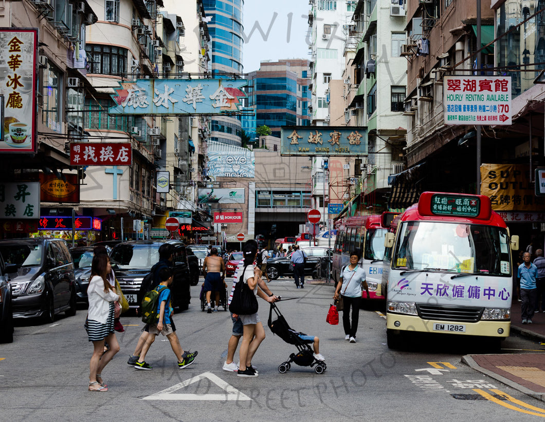 Mongkok Madness | Photographic Print