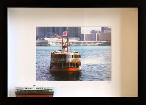 Rainbow Star Ferry 3D Frame