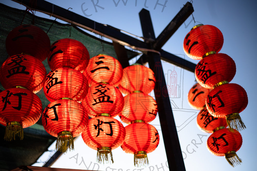 Lantern Frenzy | Photographic Print