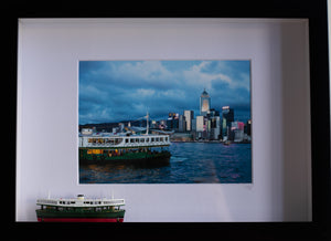 Hong Kong at Night Star Ferry 3D Frame