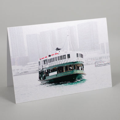 Star Ferry Greeting Card