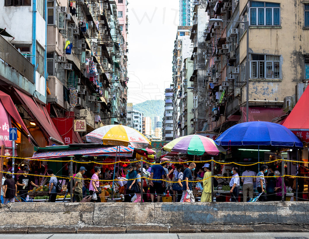 Market Madness | Photographic Print