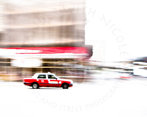 Fast Taxi | Photographic Print