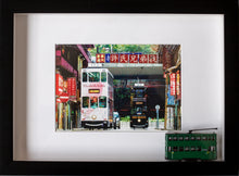 Load image into Gallery viewer, Tram - Sheung Wan, 3D Frame