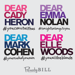 Mean Girls, Dear Evan Hansen, Legally Blonde, The Prom, Rent, You Will Be Found, Graphic Tee, T Shirt, TShirt, Tee Shirt, Mug, Poster, Broadway