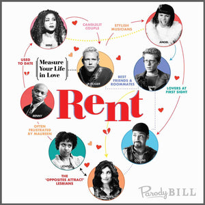 Rent, Rent Musical, Rent Broadway, Falsettos