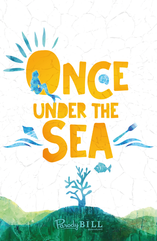 Once Under the Sea - Print
