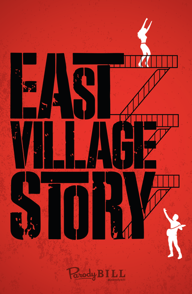 East Village Story Print