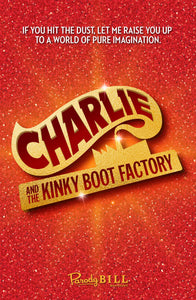 Charlie and the Kinky Boot Factory Print