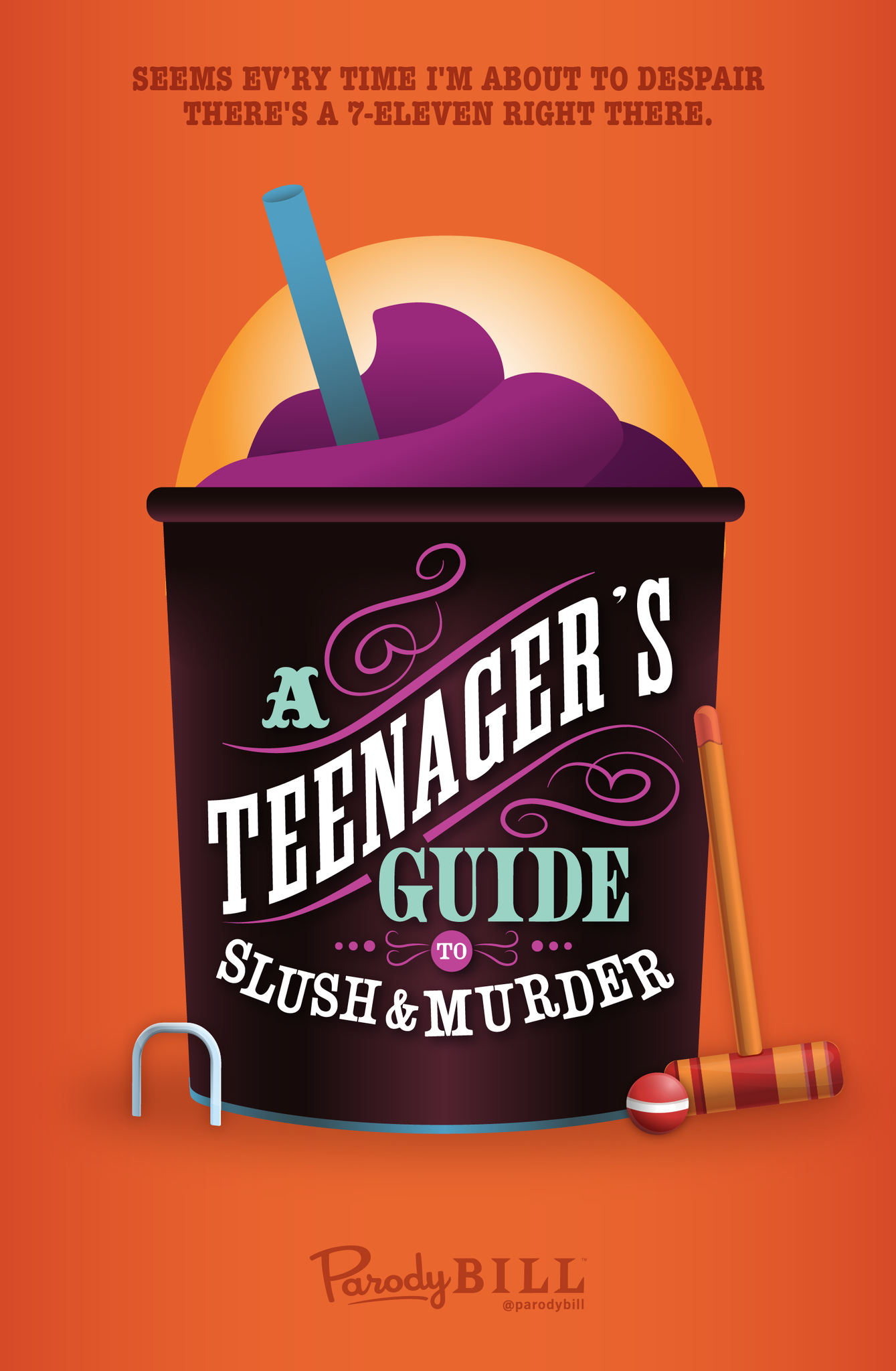A Teenager's Guide to Slush & Murder Print