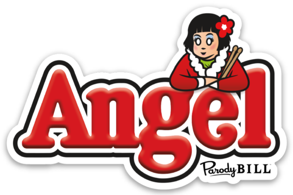 Angel Die Cut Sticker