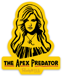 Apex Predator Die Cut Sticker