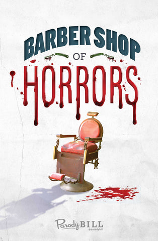 Barber Shop of Horrors Print