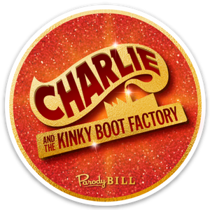 Charlie and the Kinky Boot Factory Die Cut Sticker
