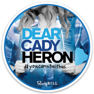 Dear Cady Heron Die Cut Sticker