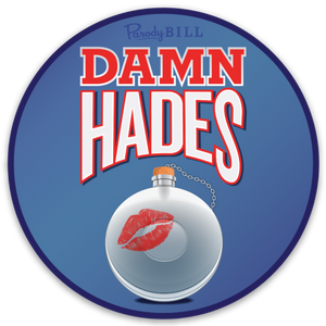 Damn Hades Die Cut Sticker