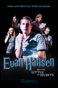 Evan Hansen and the Letter of Secrets Print (Custom)