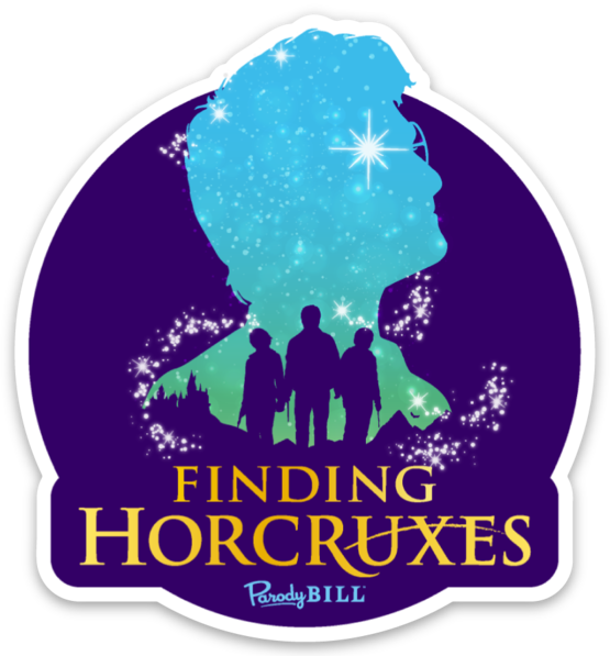 Finding Horcruxes Die Cut Sticker