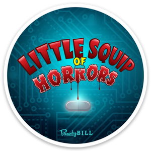 Little Squip of Horrors Die Cut Sticker