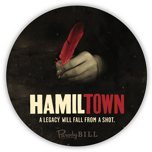Hamiltown Die Cut Sticker