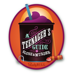 A Teenager's Guide to Slush & Murder Die Cut Sticker