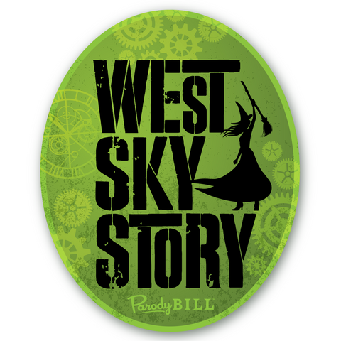 West Sky Story Die Cut Sticker