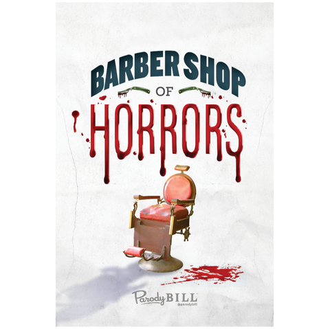 Barber Shop of Horrors Collectible Card