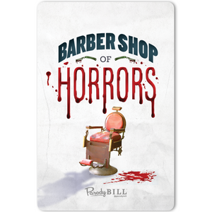 Barber Shop of Horrors Sticker