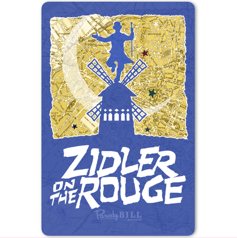 Zidler on the Rouge Sticker